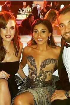 Dina El Sherbini in Norine Farah Egyptian Fashion, Arab Fashion, Celebrity Dresses, Celebrity Style, Red Carpet Event, Prom Dresses, Formal Dresses, Dressing, Celebrities