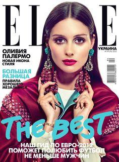 Elle Ukraine April 2012