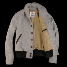 UNIONMADE - golden bear - Windsor Shawl Collar in Grey