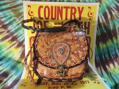 Handmade HIPPIE REMAKE from my original 1970s pattern. Get your Freak Flag On!!!!!!!!!!!!! by RoundOakLeather on Etsy