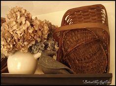 Basket display...