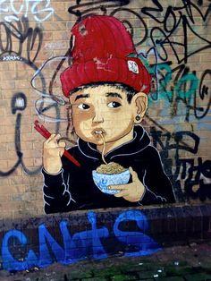 Kid Crayon in Stokes Croft Bristol, UK, 2015