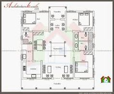 Architecture kerala traditional house plan with for Non traditional house plans