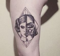 star wars darth vader tattoo-29: