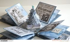 Hi papercrafters! I have been getting very festive and my Christmas cards are in…
