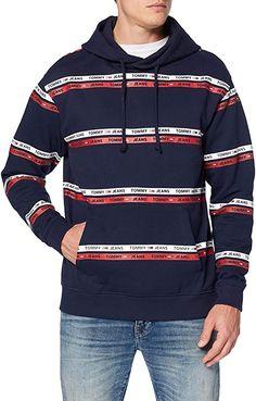 das Material überzeugt  Bekleidung, Herren, Sweatshirts & Kapuzenpullover, Kapuzenpullover Hoodies, Sweatshirts, Tommy Hilfiger, Material, Jeans, Sweaters, Fashion, Hoodie, Summer