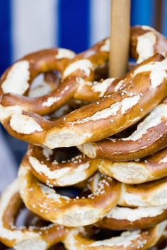 Make authentic traditional German soft pretzels at home. Golden crispy outside, soft in the middle, the secret is dipping them in lye before baking.