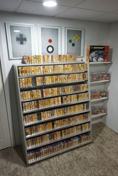 My Nintendo 64 collection. Has all the boxes manuals and carts 25% of it is factory sealed.