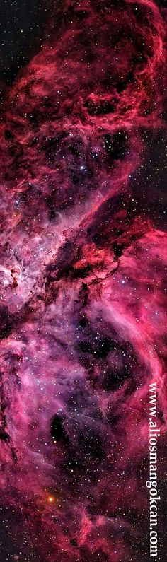 The Carina Nebula (catalogued as NGC also known as the Grand Nebula, Great Nebula in Carina, or Eta Carinae Nebula) is a large, complex area of bright and dark nebulosity in the constellation Carina, and is located in the Carina–Sagittarius Arm. Galaxy Space, Galaxy Art, Dark Galaxy, Anime Galaxy, Galaxy Painting, Space And Astronomy, Astronomy Facts, Astronomy Pictures, Hubble Space