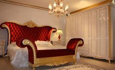 Prenses classic bedroom set is so chic and glamour. Luxury Bedroom Sets, Luxurious Bedrooms, Dream Bedroom, Luxury Bedding, White Bedroom, Luxury Home Furniture, Bedroom Furniture, Furniture Design, Bedroom Decor