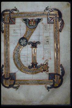 Ms 431, f. 33 - Evangéliaire (Bibliothèque municipale de Lyon, Ms 431):