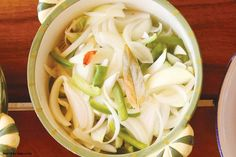 Pickled Onion Recipe from Maui chef Sheldon Simeon.