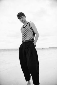 """manniskorarkonstiga: """"Arthur Gosse photographed by Alan Chies and styled by Maria Molina for L'Officiel Hommes Spain """""""