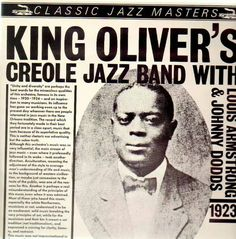 "Jazz pioneer Joe ""King"" Oliver of New Orleans, Louisiana born 5/11/1885. King Oliver mentored Louis Armstrong."