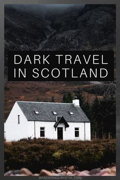 Dark Travel in Scotland - Dark Travel in Scotland, Scottish Highlands Dark History, Scotland Dark History, Dark History Trave - Scotland Travel Guide, Scotland Vacation, Ireland Travel, Scotland Trip, Spooky Places, Haunted Places, Abandoned Places, Haunted Castles, Outlander