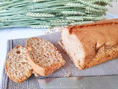 Cake à la purée d'amande facile. Remplacer le sucre