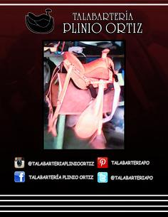 Silla para montar a caballo totalmente equipada. #TalabarteríaPlinioOrtiz   #Talabartería   #cuero   #silla   #galápagos   #tereques    #caballo   #vaquería   #leather   #saddle   #horse