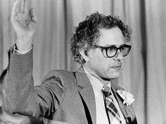 1981 and Bernie is sworn in as Mayor of Burlington, Vermont.