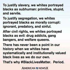 Black lives do matter.