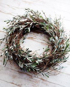 olive leafs wreath