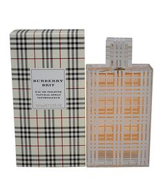 Look what I found on #zulily! Burberry Brit 3.3-Oz. Eau de Toilette - Women by Perfume Center of America #zulilyfinds