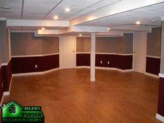 Paint trim into flat walls