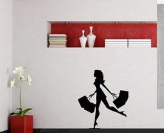 Wall Vinyl Decal Sticker Art Design elegant  by VinylDecals2U, $24.65