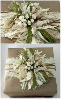 Holiday Tutorial .... for the love of burlap .... <3
