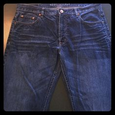 Men's Aeropostale denim jeans Men's denim jeans. Gently worn. No holes or rips. Perfect condition!! American Eagle Outfitters Jeans Straight Leg
