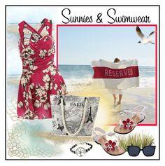 """Rosegal One piece swimwear"" by carola-corana ❤ liked on Polyvore featuring Sir/Madam"