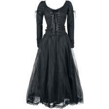 Black Net Lace Dress