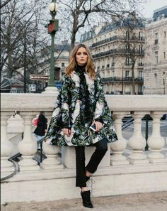 Olivia Palermo at Paris Couture Fashion Week
