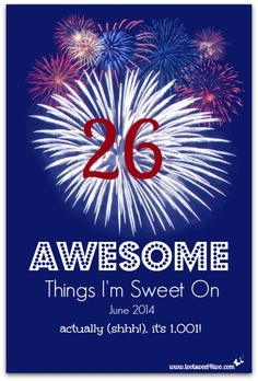 26 Awesome Things I'