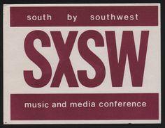 SXSW 1987 Logo