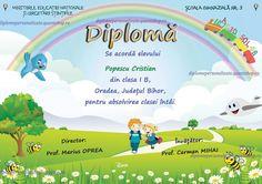 Diploma personalizata absolvire clasa I (B314)