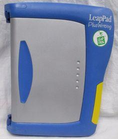 LEAPFROG LeapPad Plus Writing Pre K - 1st Grade Learning System GUC #LeapFrog
