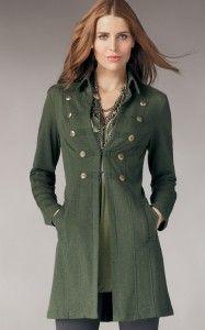 Love long jackets!