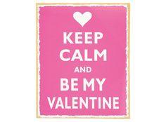 Aan wie verklaar jij deze valentijnsdag de liefde? Zeg het met dit bordje!