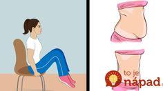 Nemáte čas na cvičenie? 6 jednoduchých spôsobov, ako si vyformovať bruško počas…