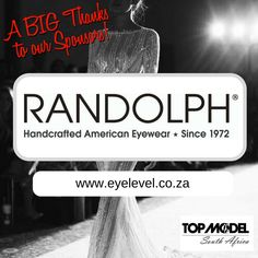 Thanks to Eye Level - Live with Vision for your sponsorship! We appreciate your support! Visit them on www.eyelevel.co.za #TMSA17 #TMSASponsor