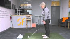 Setting up this far from the ball will help your golf swing