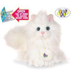 Plush Webkinz Persian Cats by Ganz