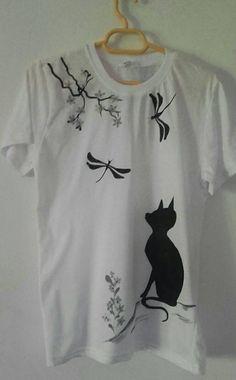 Manually painted shirt