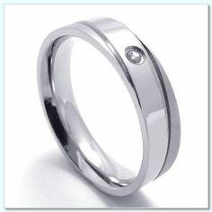 Large Platinum Wedding Rings for Women