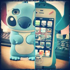 Stitch phone case! ... This makes me want a cool phone.