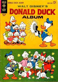Walt Presents, Donald Duck Album Walt Disney Characters, Disney Movie Posters, Comic Book Characters, Disney Pixar, Comic Books, Disneyland Paris, Children's Comics, Disney Duck, Scrooge Mcduck
