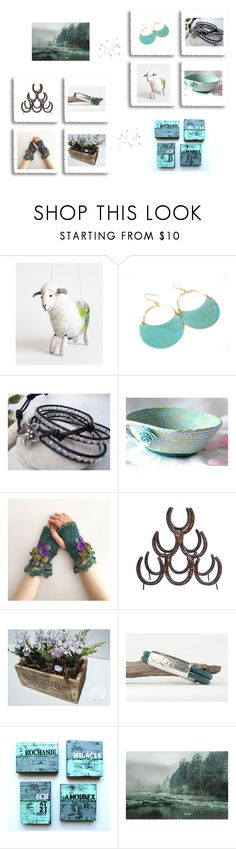 """""""Etsy Gifts"""" by keepsakedesignbycmm ❤ liked on Polyvore featuring Home, jewelry and accessories"""