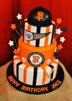 Giants Themed Baseball Birthday Party