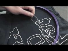 ▶ How To Embroider with No Knots - YouTube