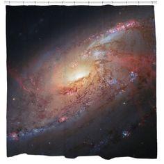 Supermassive Black Hole Shower Curtain